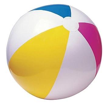 Nivalkid - Bola de playa hinchable de PVC de 3 colores para ...