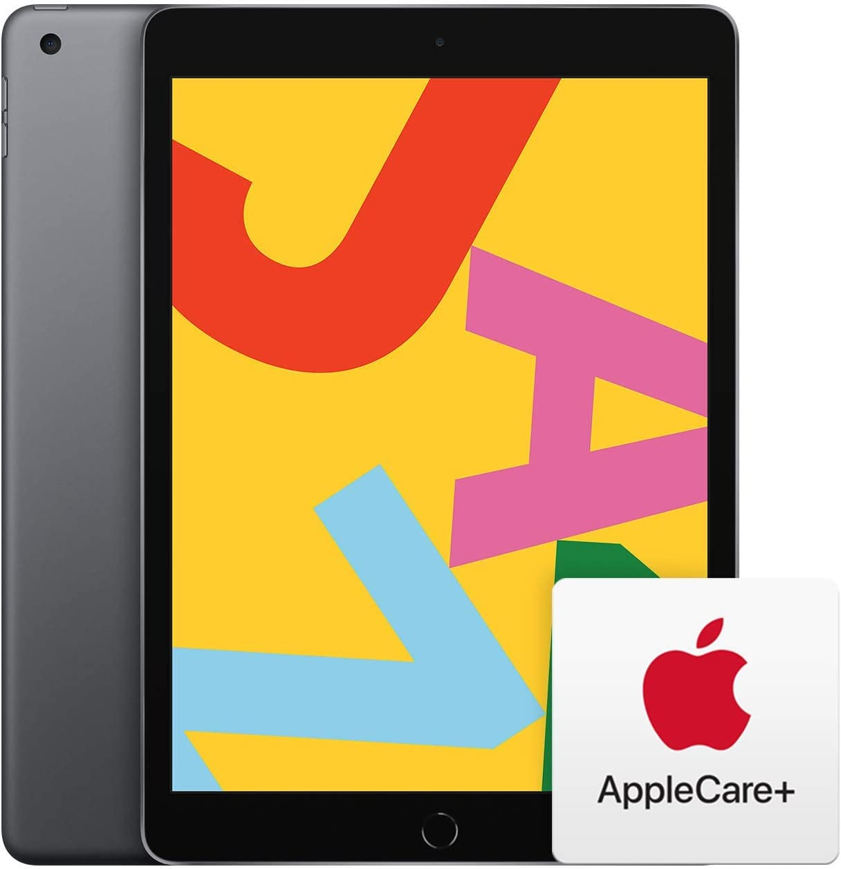 Apple iPad (10.2-Inch, Wi-Fi, 32GB) - Space Gray (Previous Model) with AppleCare+ Bundle