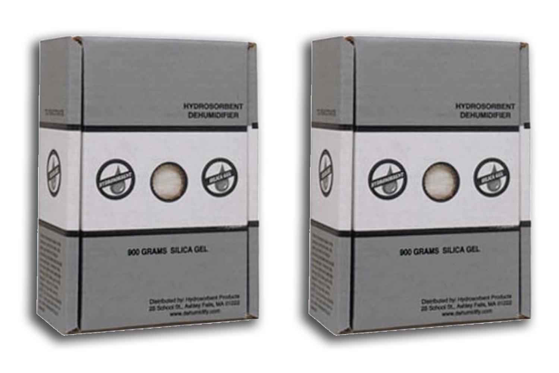 900 Gram Silica Gel Carton - 2 Pack