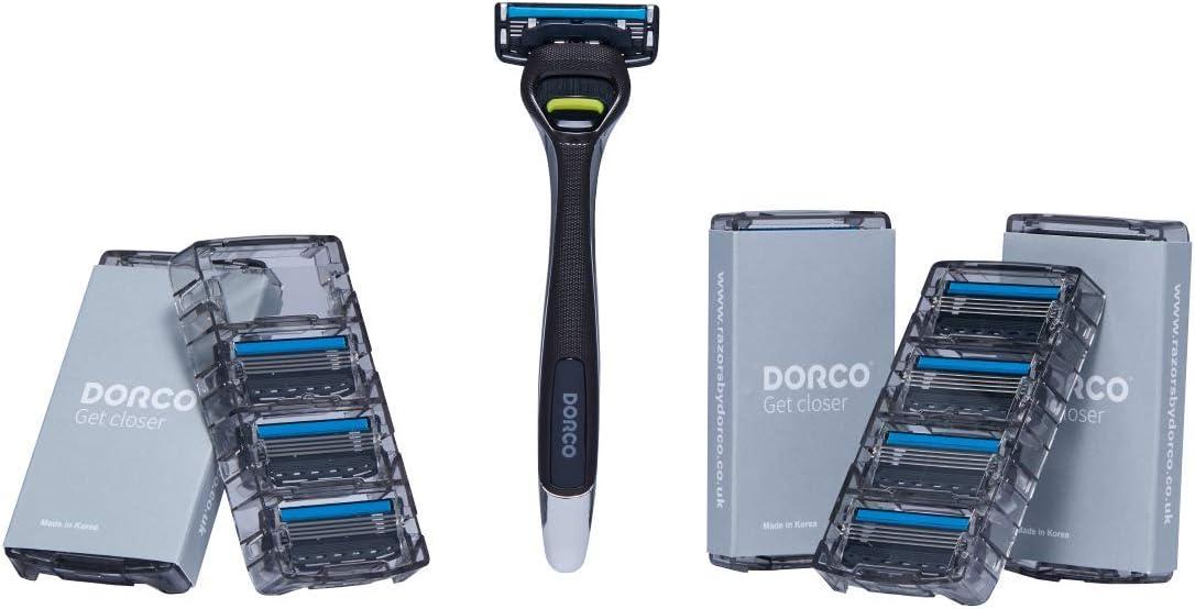 Maquinilla de afeitar Dorco Pace 4 Pro para hombres (20 cuchillas ...