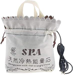Hot Stones Warmer for Massage, Massage Stones Heater Electric Hot Stone Heater Massage Stones Heating Bag Hot Stone Massage Kit(Heater Bag(Without Massage Hot Stones))
