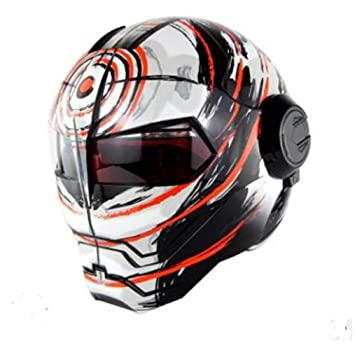 Lili Casco De Motocross Off Road Rally Racing Cascos Profesionales Hombres Casco De Motocicleta,E-M: Amazon.es: Hogar