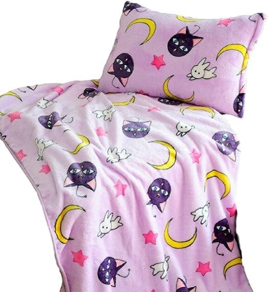 Sailor Moon Cosplay Blanket Anime Tsukino Usagi Throw Soft Warm Sofa Bed Blanket