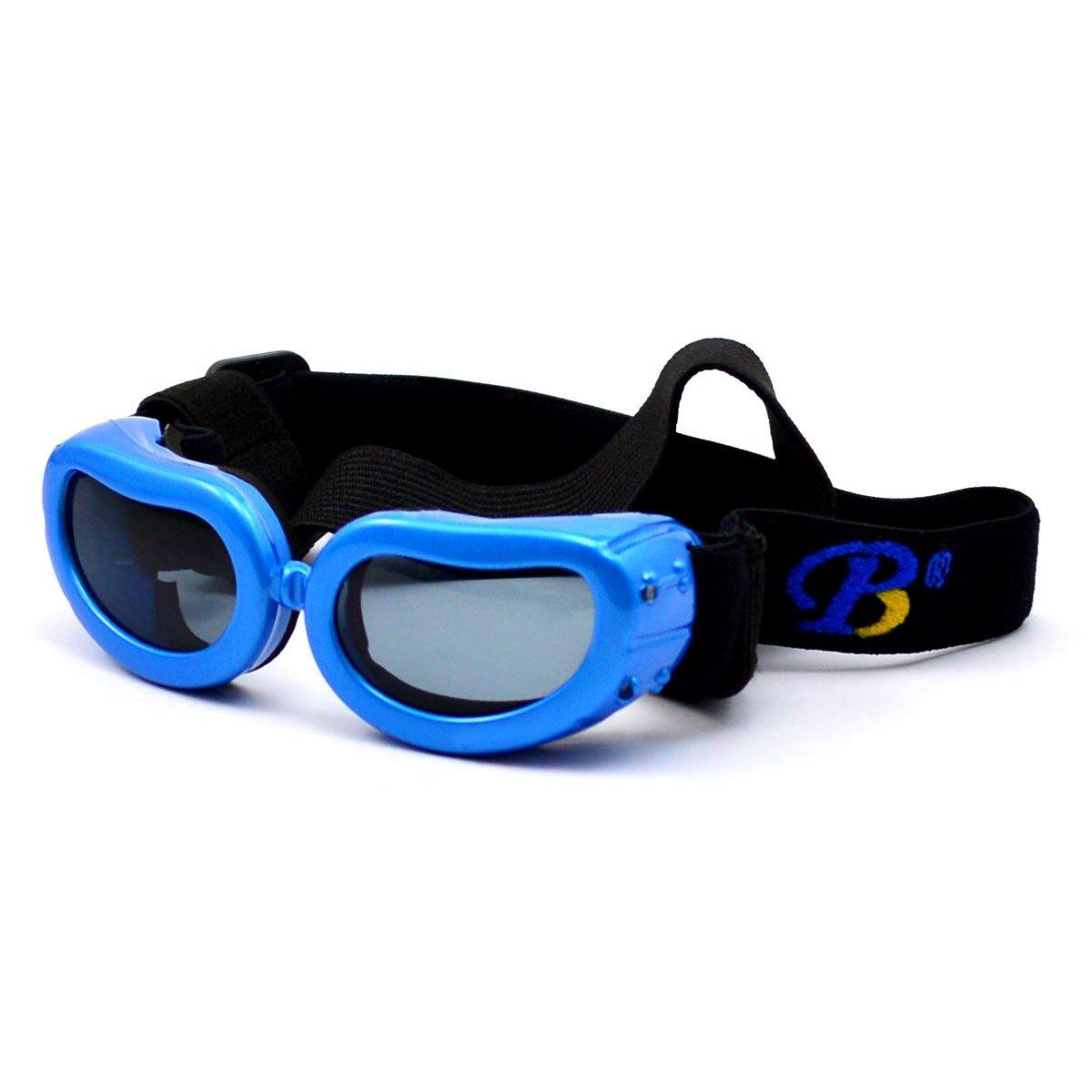 WESTLINK Hund UV Sonnenbrille Brille Sonne schützenden Sonnenbrille mit verstellbarem Schultergurt für Welpen Hund hRtFm