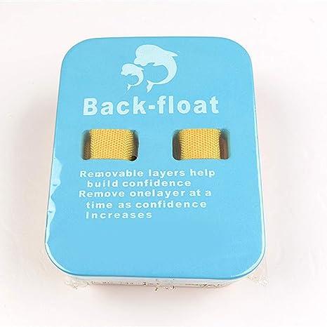 Flotador trasero ajustable Uteruik, flotador trasero de 4 capas, apto para niños y adultos