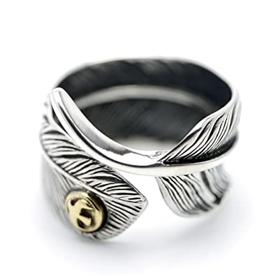 Z Keep You Fit All The Time Sterling Silver Ring Huge Spiral 925 Solid New Size J Fine Rings