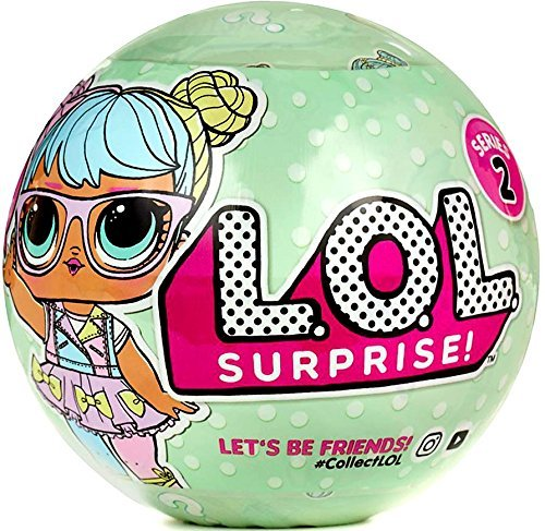 (LOL Surprise Balls - Series 2 Wave 1 - Friends - Collectible Dolls)