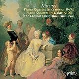 Mozart: Piano Quartet in G Minor K.478; Piano Quartet in E Major K.493