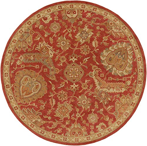 - Surya Ancient Treasures A-177 Rug - 8 ft Round