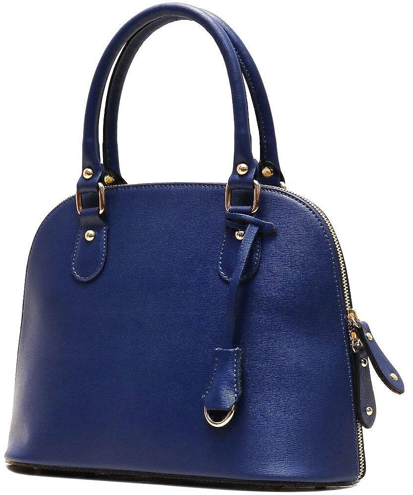 Floto Ragazza Leather Handbag in Tan