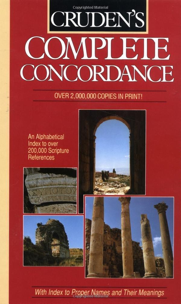 Cruden's Complete Concordance pdf epub