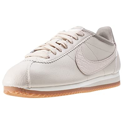bd520a6f11a70 Nike Classic Cortez Lux Womens Trainers Cream - 7 UK: Amazon.co.uk ...