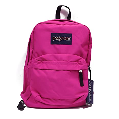 super cute top quality high quality Jansport Superbreak Backpacks (Cyber Pink)