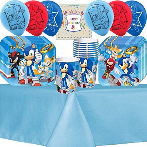 Sonic The HedgeHog Party Pack Bundle