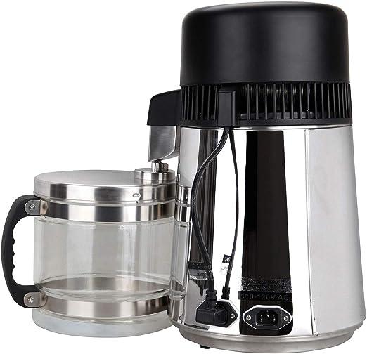 Samger 750W Pure Destilador de Agua Máquina Acero Inoxidable ...