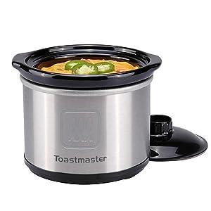 Toastmaster 20 OUNCE MINI CROCK.65-Quart Slow Cooker