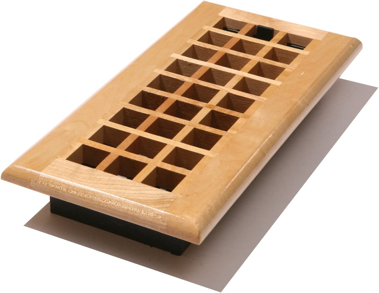 Decor Grates WEM414-N Floor Register, 4-Inch by 14-Inch, Natural Maple