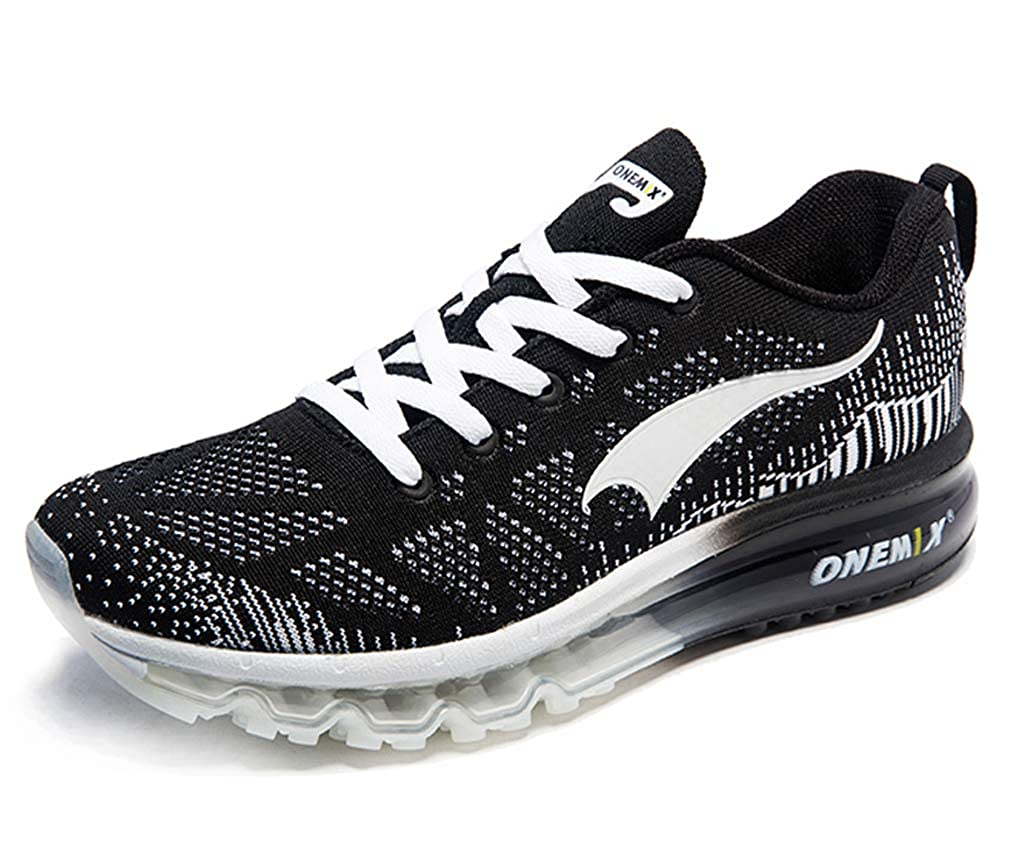 Black White UB-ONEMIX Unisex Air Cushion Outdoor Sport Music Ritmo Deportivas Running shoes