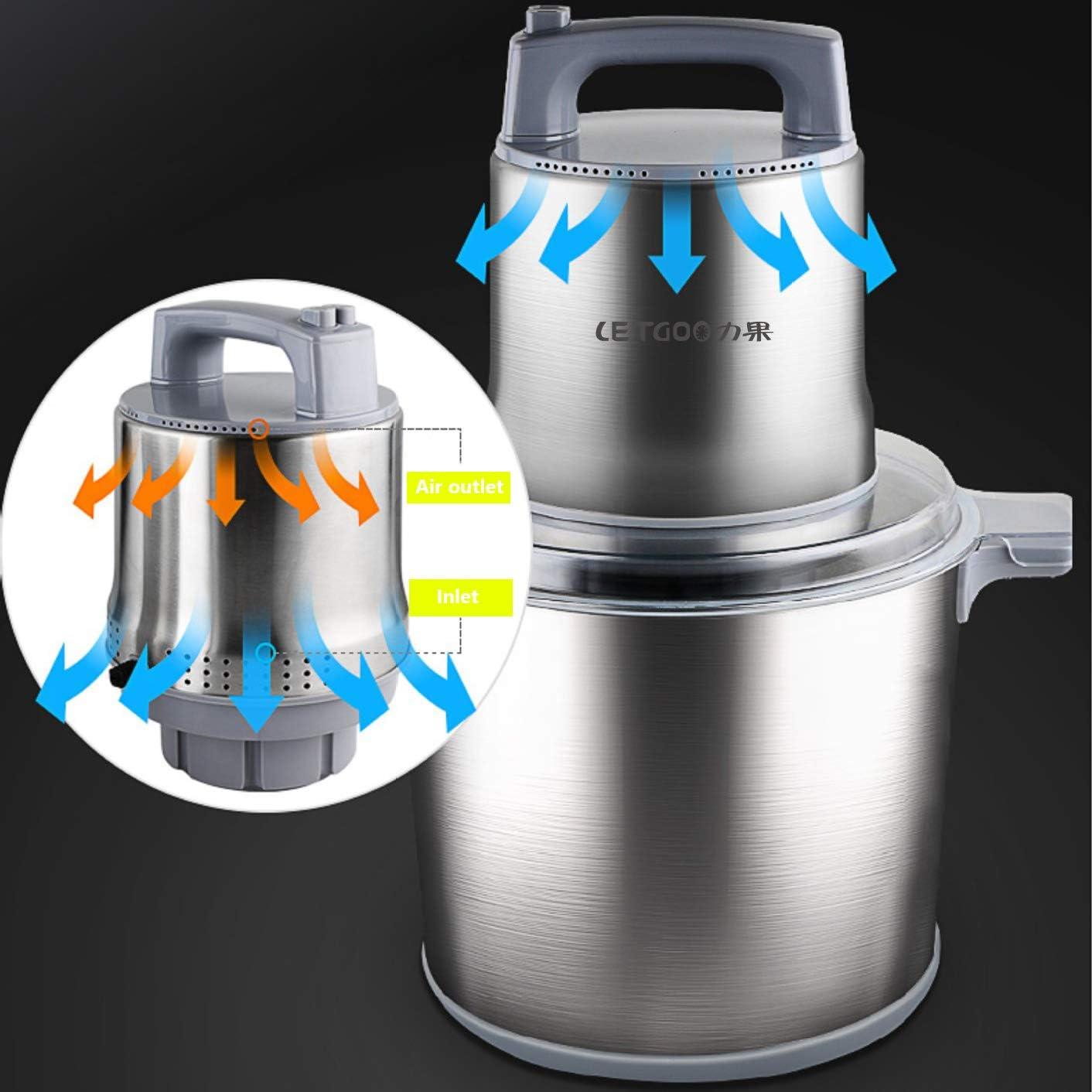 Amazon.com: Trituradora de alimentos eléctrica profesional ...