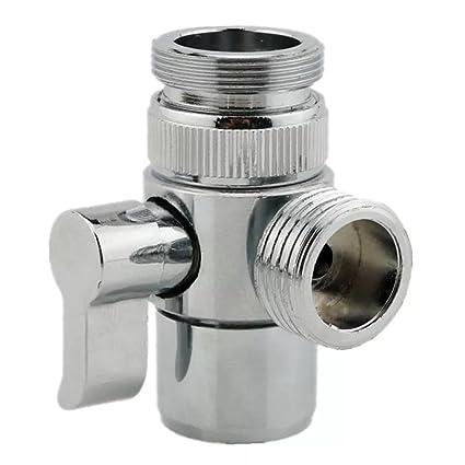 MissMin Sink Faucet Diverter Valve/adapter To Bidet Shower Hose With Aerator  For Bathroom/
