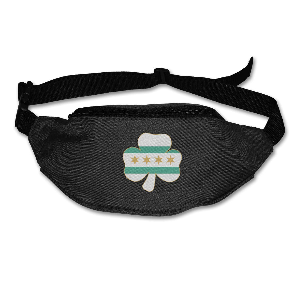 I Love Shamrock Irish Beer Sport Waist Pack Fanny Pack Adjustable For Hike