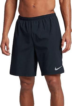 50d132930429e Amazon.com  Nike Men s 9   Flex Running Shorts (Dark Obsidian ...