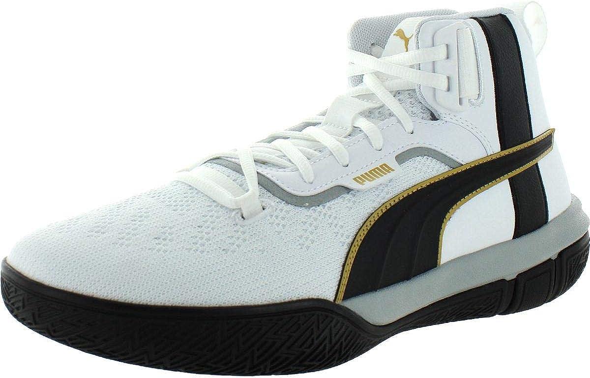 PUMA Mens Legacy 68 White Athletic
