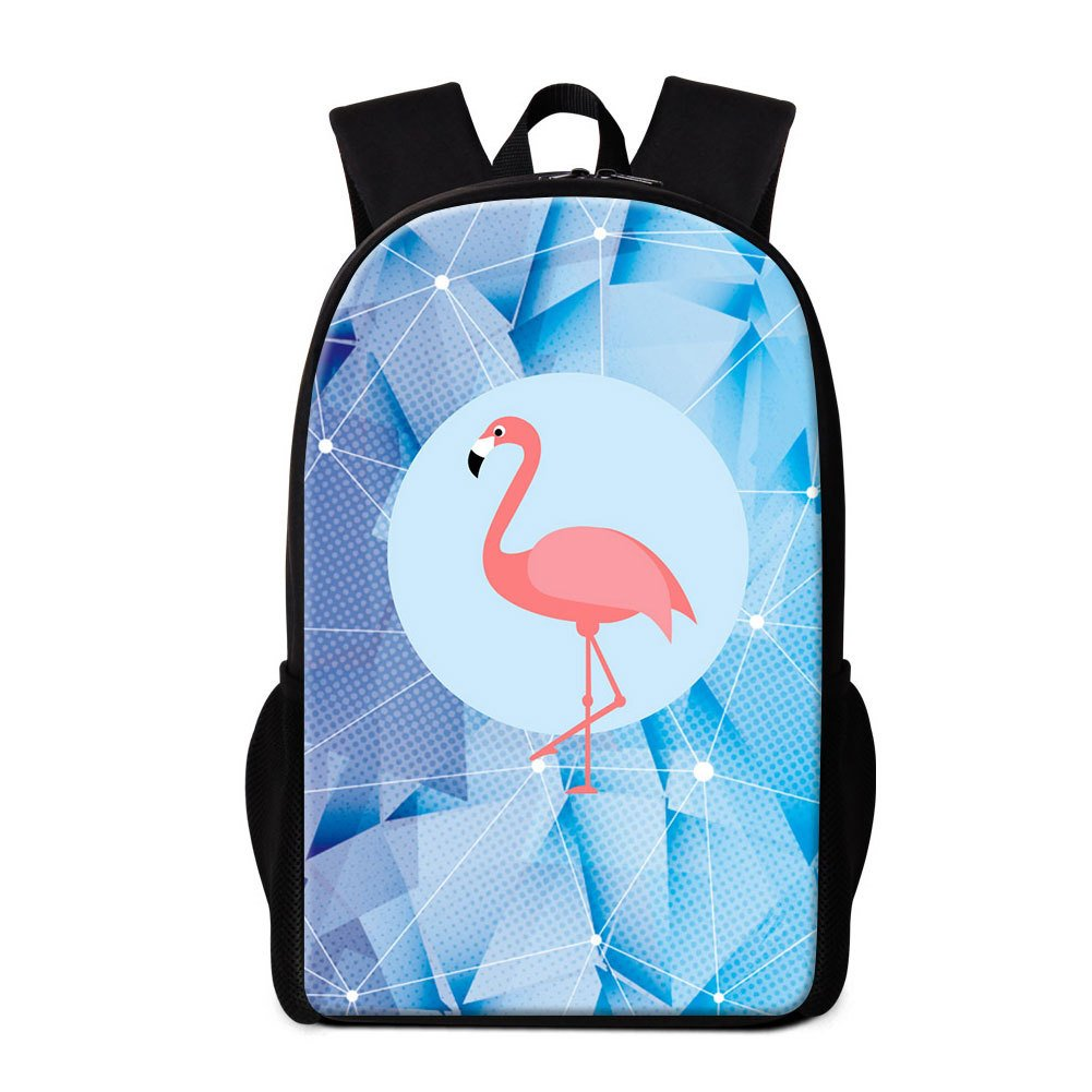Amazon.com: Dispalang Cute Flamingo Print School Backpack for Girls Children Mochilas Animal Pattern Rucksack: Sports & Outdoors