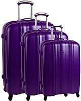 Set de 3 valises 4 roues robust Lite