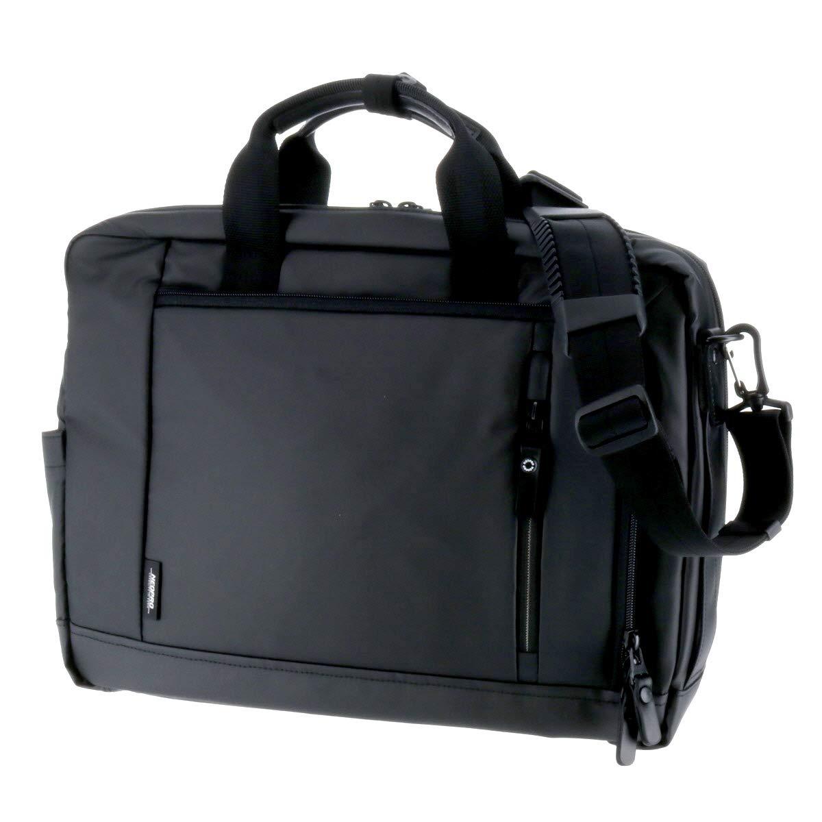 (ネオプロ) NEOPRO 3wayブリーフケース ビジネスバッグ ショルダーバッグ リュックサック B07MX12Z3L ブラック