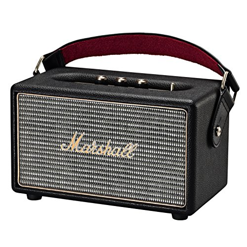 Marshall Kilburn Portable Bluetooth Speaker, Black (4091189) (Marshall Accessories)