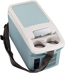 SL&BX Mini Compact Refrigerator,Compact-refrigerators armrest Box car Refrigerator Refrigeration Mini Small Matching 6l Portable Compact Personal Fridge-B 44.5x23.5x19.5cm(18x9x8inch)