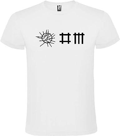 ROLY Camiseta Blanca con Logotipo de Depeche Mode Hombre 100% Algodón Tallas S M L XL XXL Mangas Cortas: Amazon.es: Ropa y accesorios