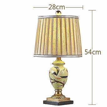 Lampe De Style Europeen Romantique Chaleureuse Chambre Salon Idylle