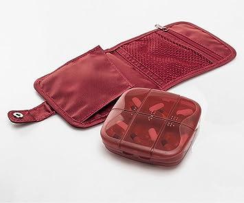 Amazon.com: Meta-U Caja de pastillas dispensador de plástico ...