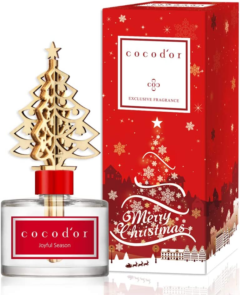 Cocod'or Winter Diffuser/Joyful Season / 6.7oz(200ml) / 1 Pack/Reed Oil Diffuser, Room Fragrance, Home & Office Decor, X-MAS, Christmas