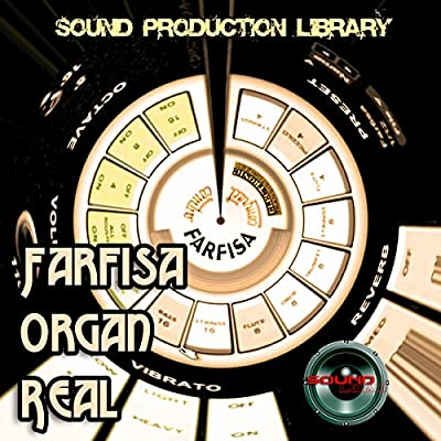 FARFISA ORGAN - THE very Best - Large unique original 24bit WAVE/Kontakt Multi-Layer Samples Library. FREE USA Continental Shipping on DVD or download; from SoundLoad