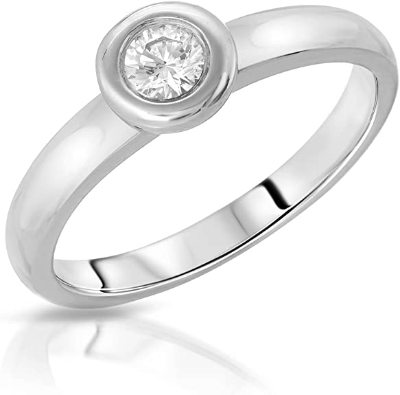 size 7.25 6mm cz cz ladies stack ring Sterling silver