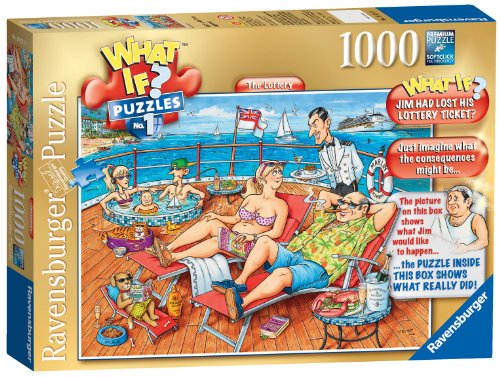 Ravensburger What If? No. 1 - The Lost Lottery Ticket, 1000pc Jigsaw Puzzle