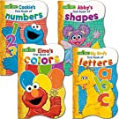 Sesame Street First Board Books - Set of Four (ABCs, 123s, Colors, Shapes)