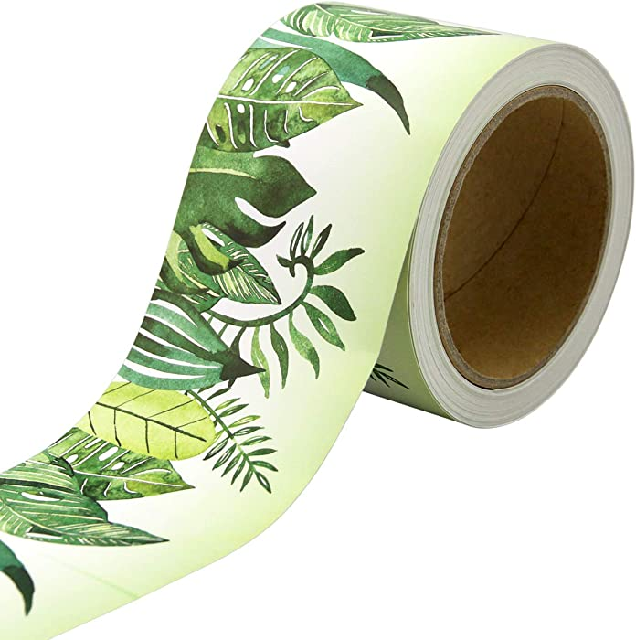 Tropical Leaves Bulletin Board Border Africa Friends Classroom Decoration 36ft One Roll