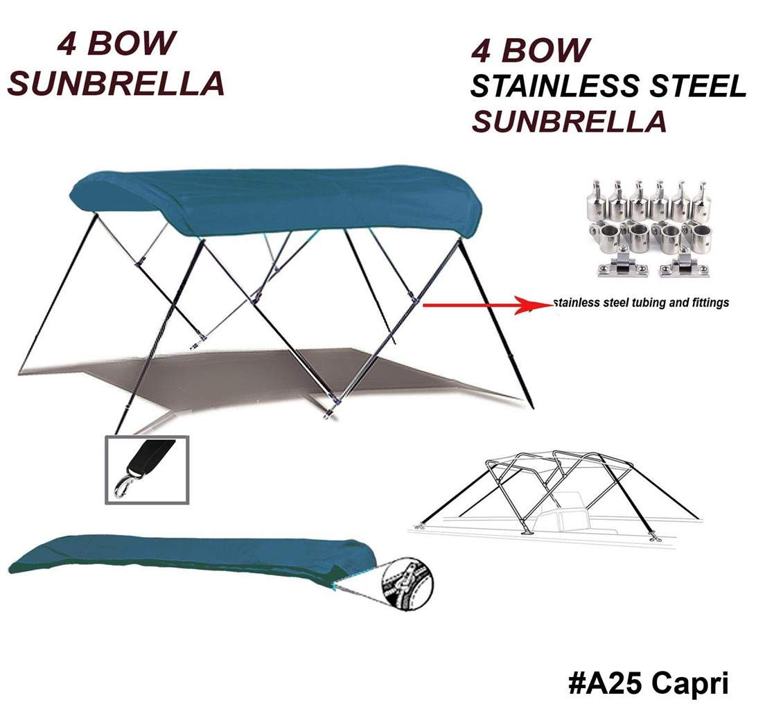 Admirable Amazon Com Top Of The Line Stainless Steel Sunbrella 9 25 Gmtry Best Dining Table And Chair Ideas Images Gmtryco