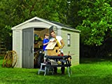 Keter Factor 8x11 Foot Large Resin Outdoor Shed