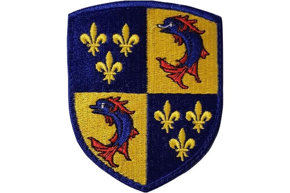 amalric Blason du Dauphin/é brod/é