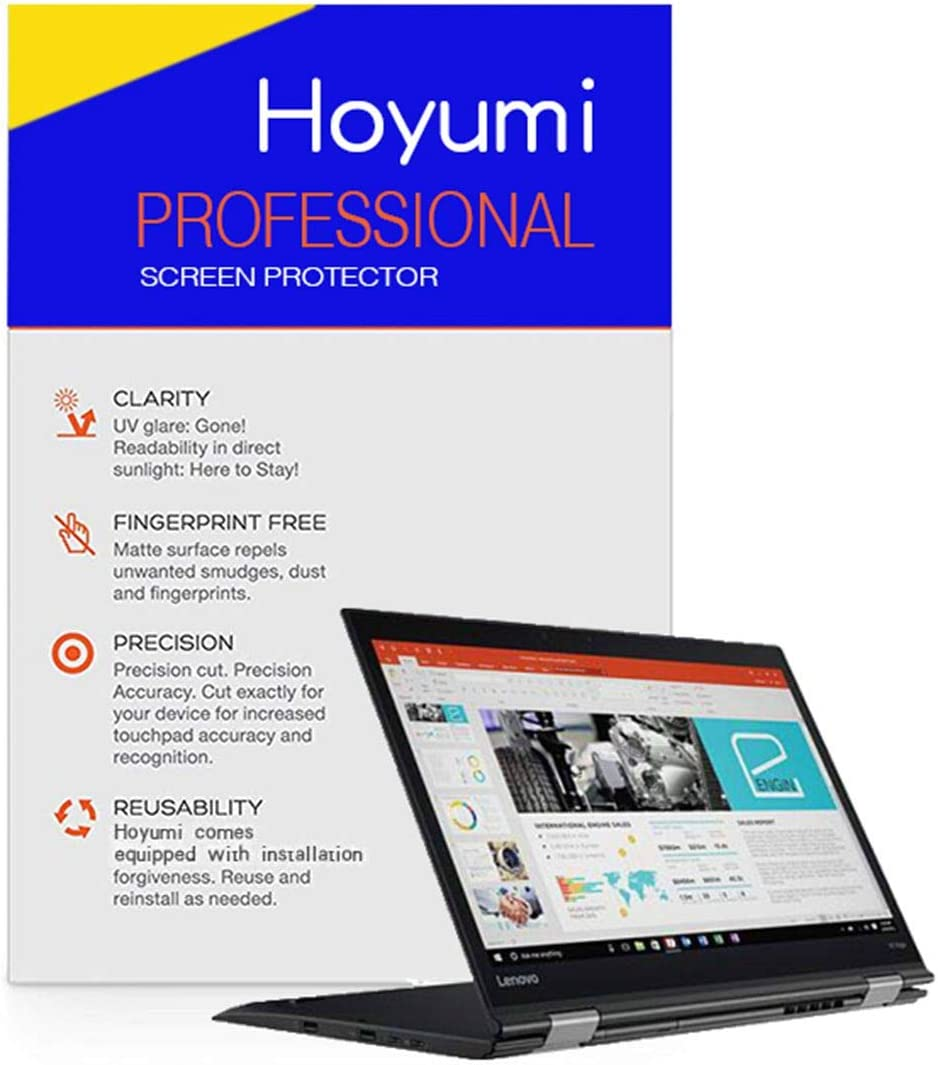 Hoyumi Paper Feel Screen Protector for Lenovo Yoga C930/C930-Glass 14 Inch Full Screen Laptop (Paper Like Screen Protector, 14 Inch)