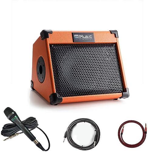 Coolmusic AC20 20Watt Bluetooth Keyboard Acoustic Guitar Amplifier