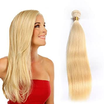 Amazon blonde human hair extensions 8a remy human hair weave blonde human hair extensions 8a remy human hair weave blonde 613 brazilian straight hair 12inch pmusecretfo Image collections