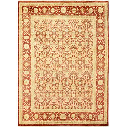 Solo Rugs M1641-14 Oushak Hand Knotted Area Rug, 9' 10