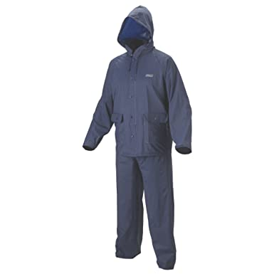 Amazon.com: Coleman traje impermeable de PVC Azul Adulto ...