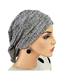Hats for You Women's Chemo Cap with Removable Bow